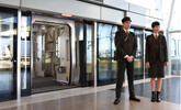 Guest Services Representative on the UP Express Pearson platform