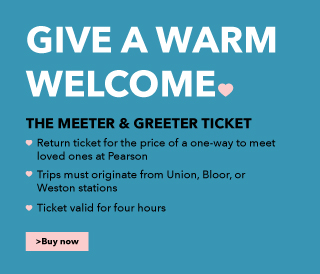 Give a Warm Welcome.  The Meeter & Greeter Ticket.  Buy Now